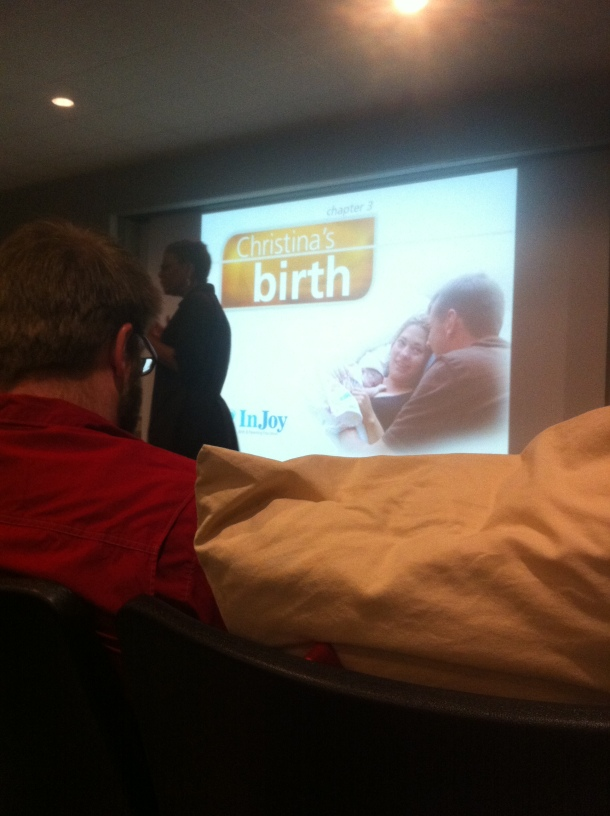 Picture from childbirth class