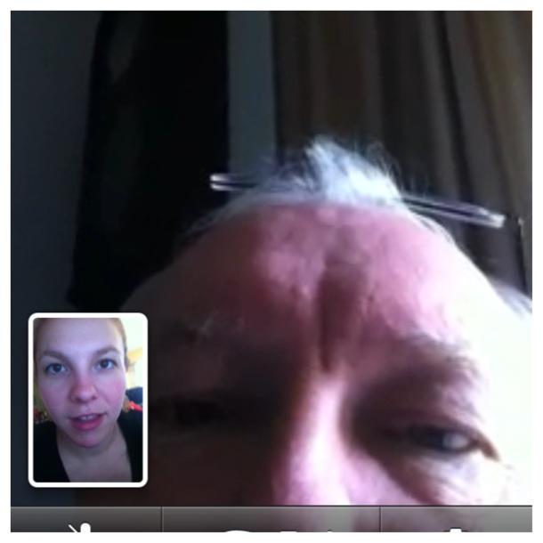 Dad Facetime