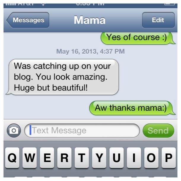 Mama text
