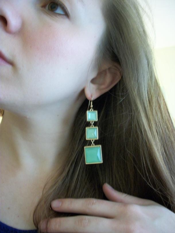 The earrings